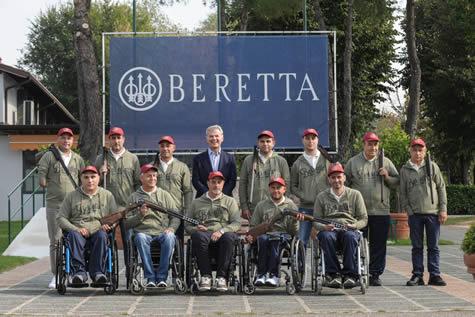 team Beretta Paralimpico 10 2017