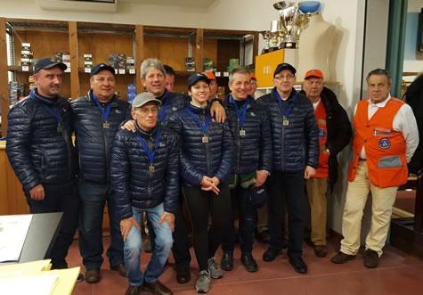 Finale invernale Fossa Olimpica - squadra Concaverde
