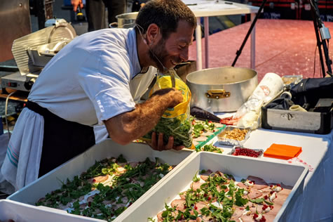 show cooking grosseto