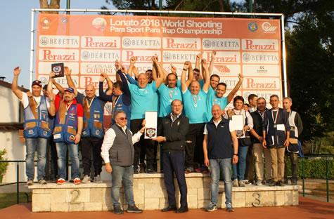 Podio campionato italiano societa 3a categoria