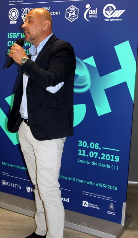 presentazione camp. mondiale Ivan Carella