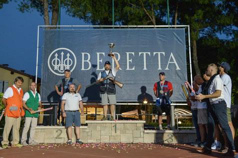 Beretta Excellence 2019 - Il vincitore Dario Caretta