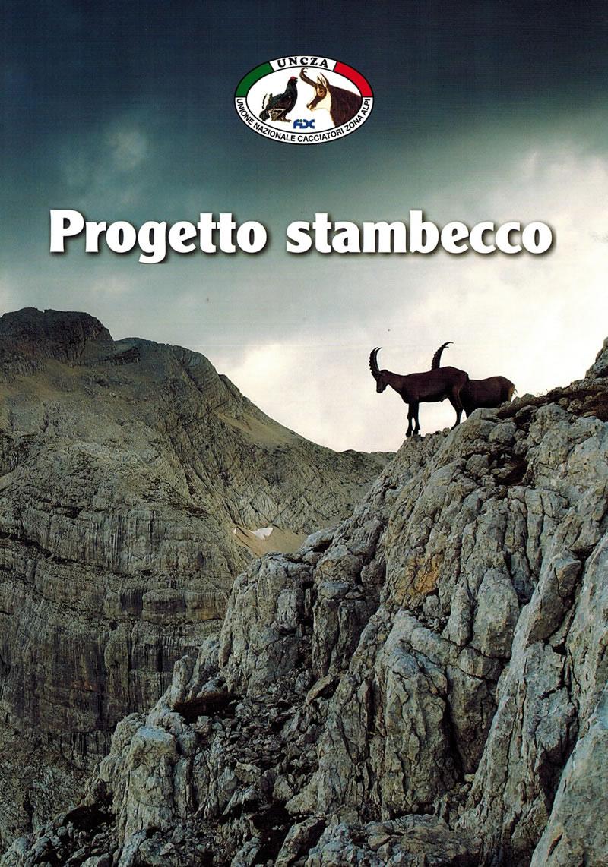 Copertina Progetto Stambecco UNCZA